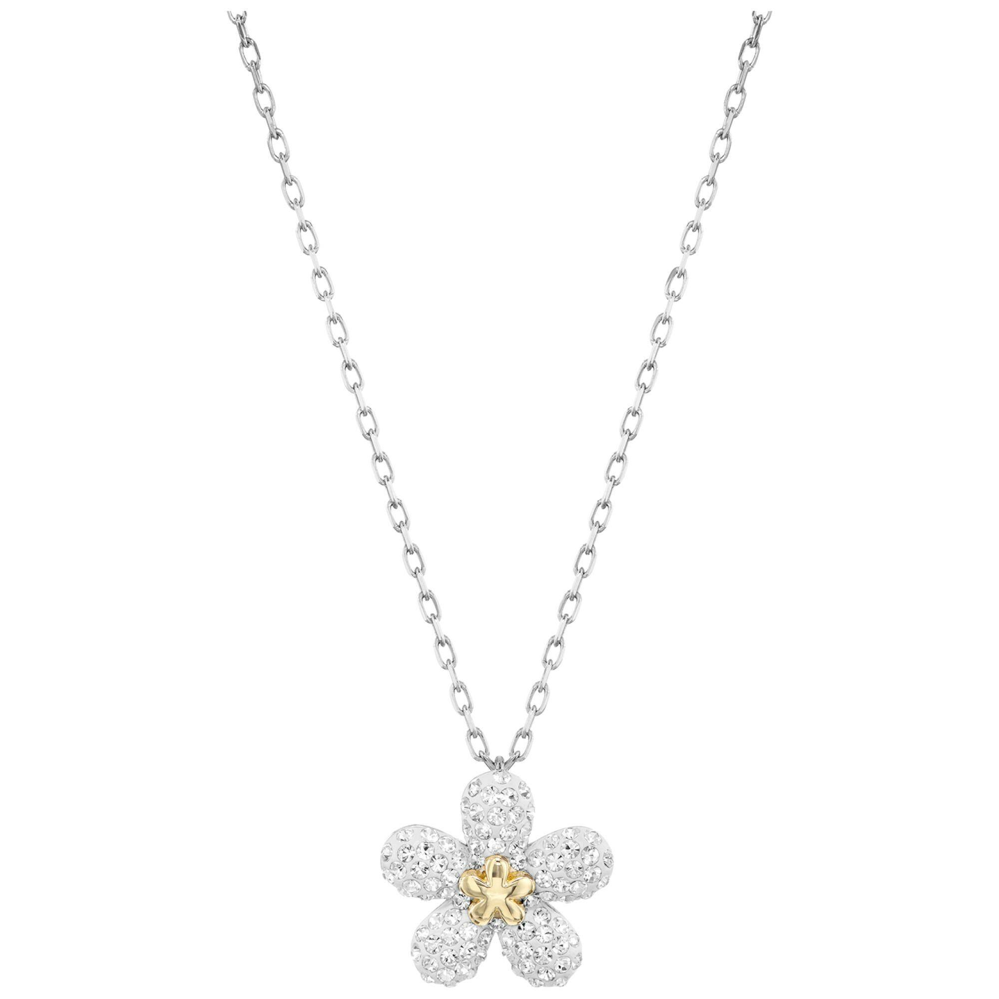 [SWAROVSKI] TOUGH:NECKLACE FLOWER
