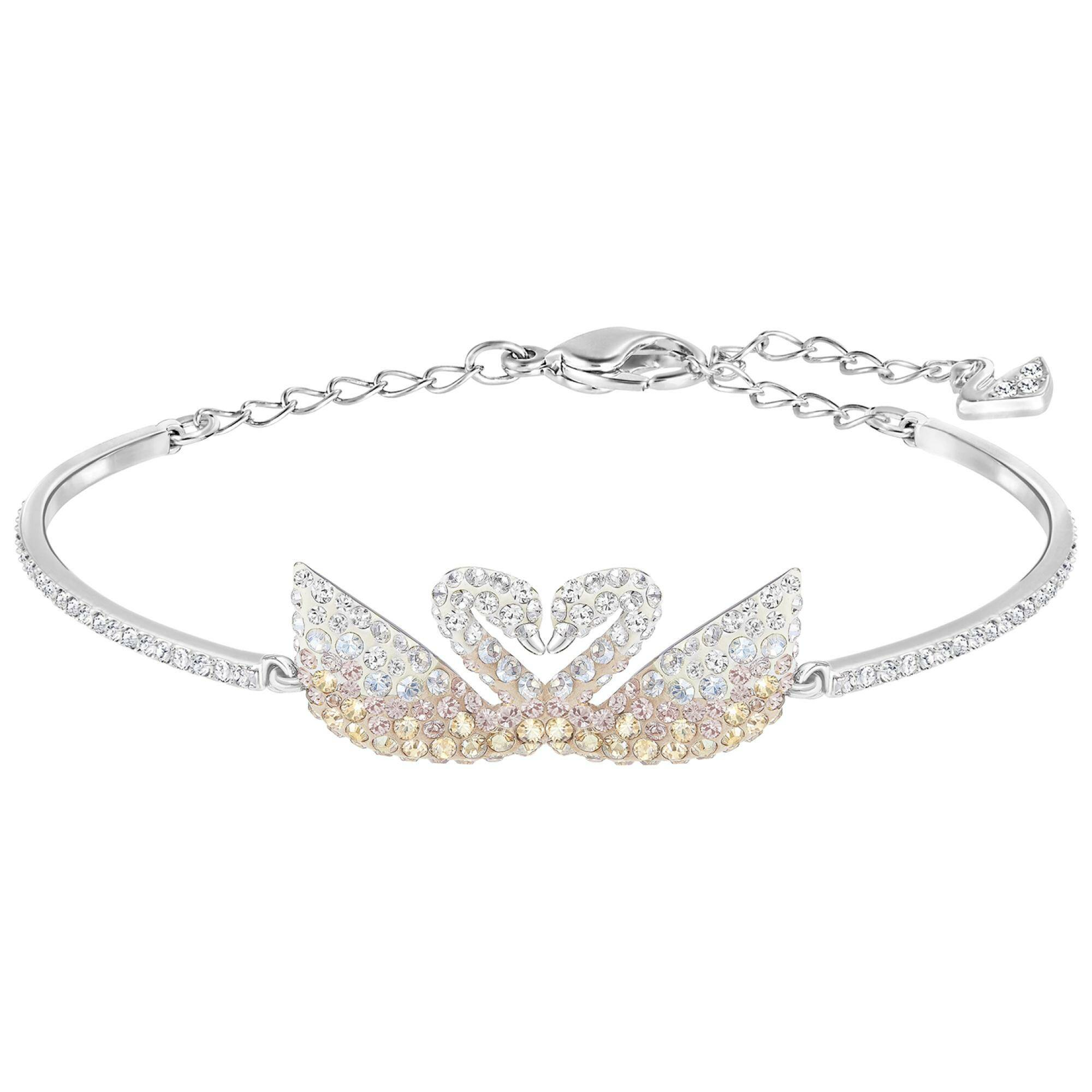 [SWAROVSKI] ICONIC SWAN:BANGLE DOUBLE
