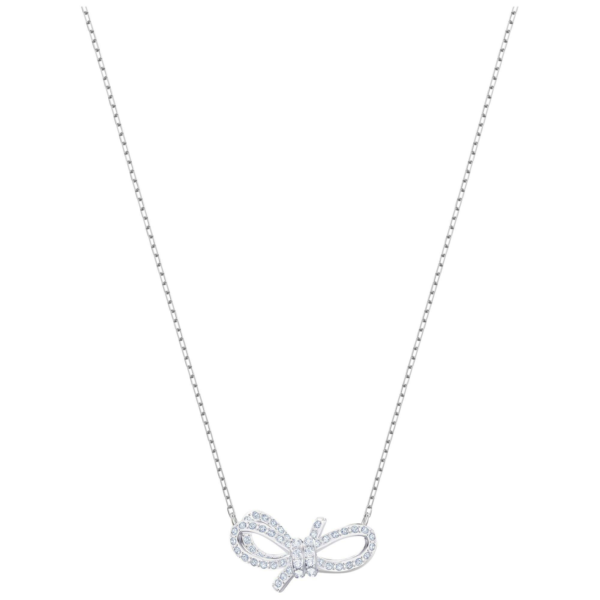 [SWAROVSKI] LIFELONG BOW:NECKLACE SML