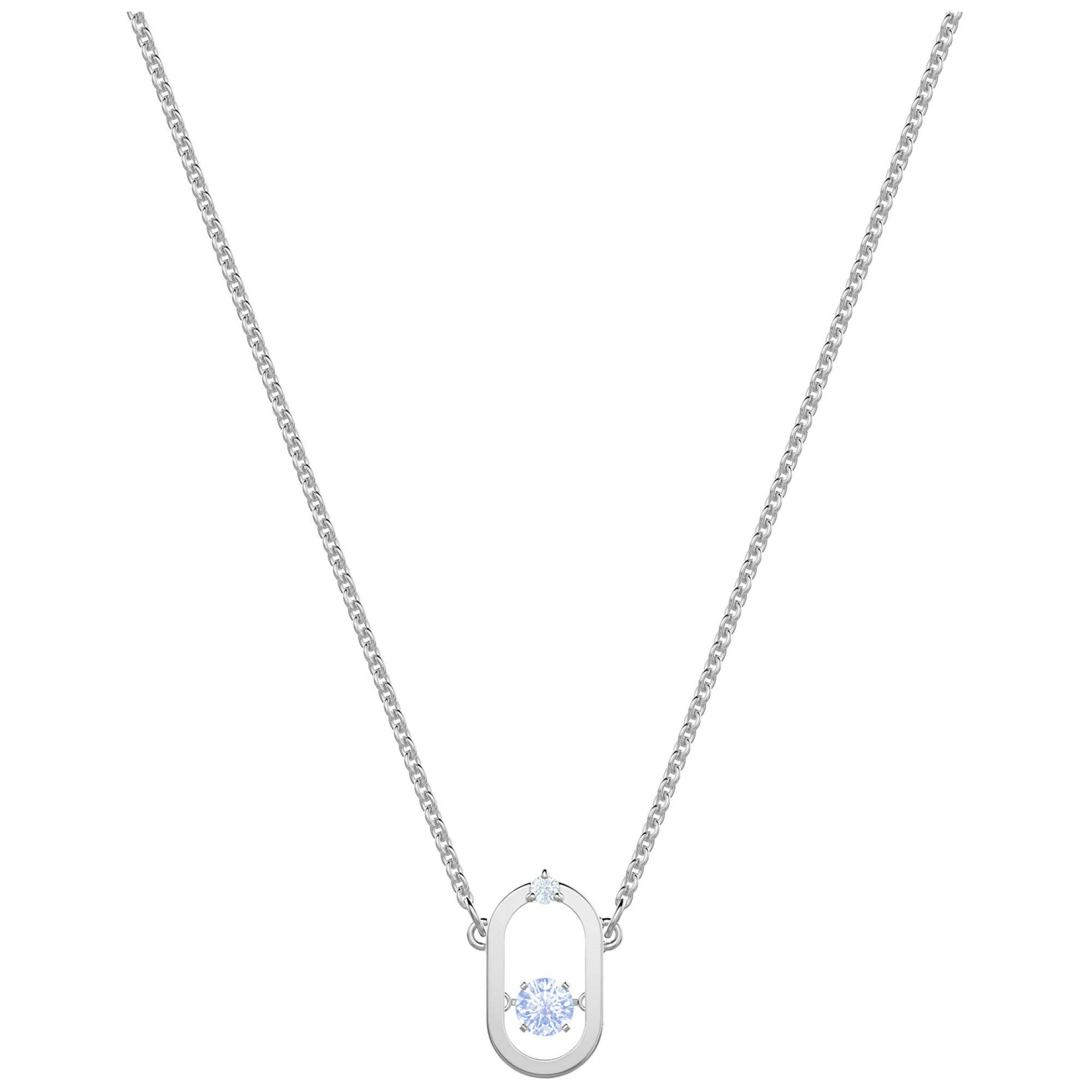 [SWAROVSKI] NORTH:NECKLACE OVAL