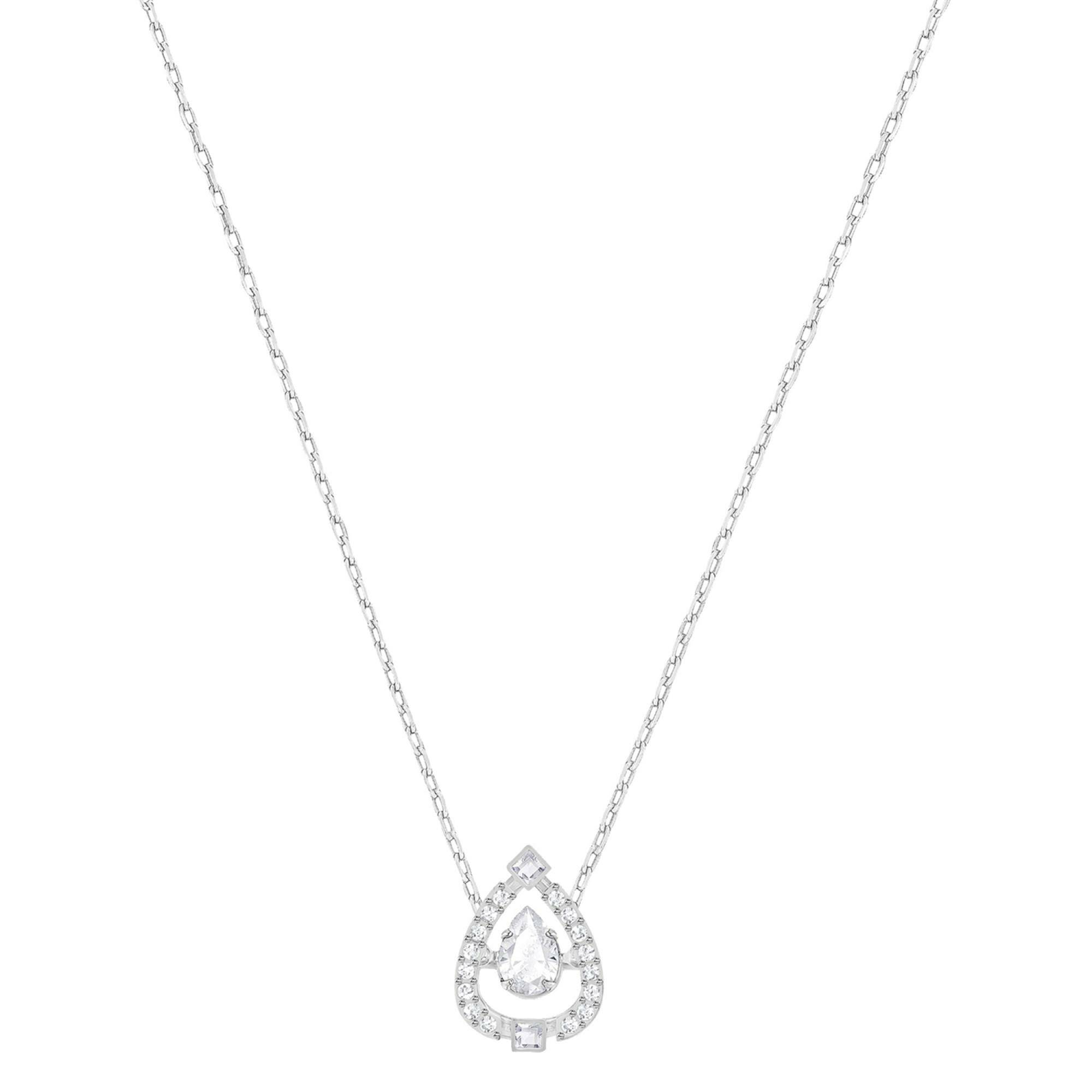 [SWAROVSKI] SPARKLING DC:NECKLACE PEAR