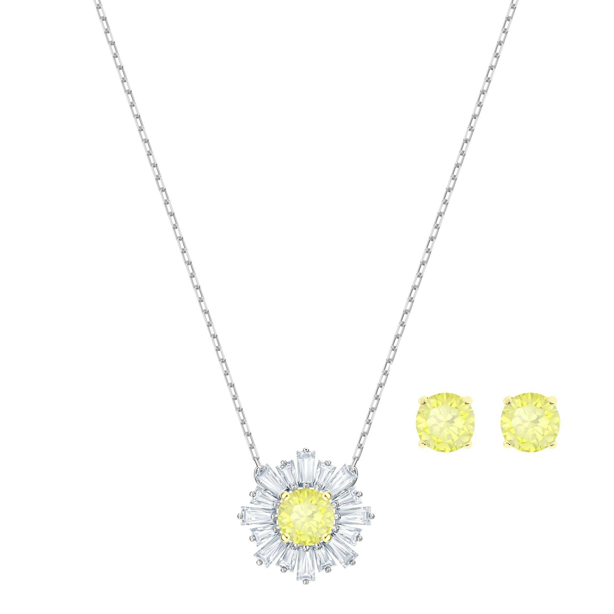 [SWAROVSKI] SUNSHINE:SET CZWH/MIX
