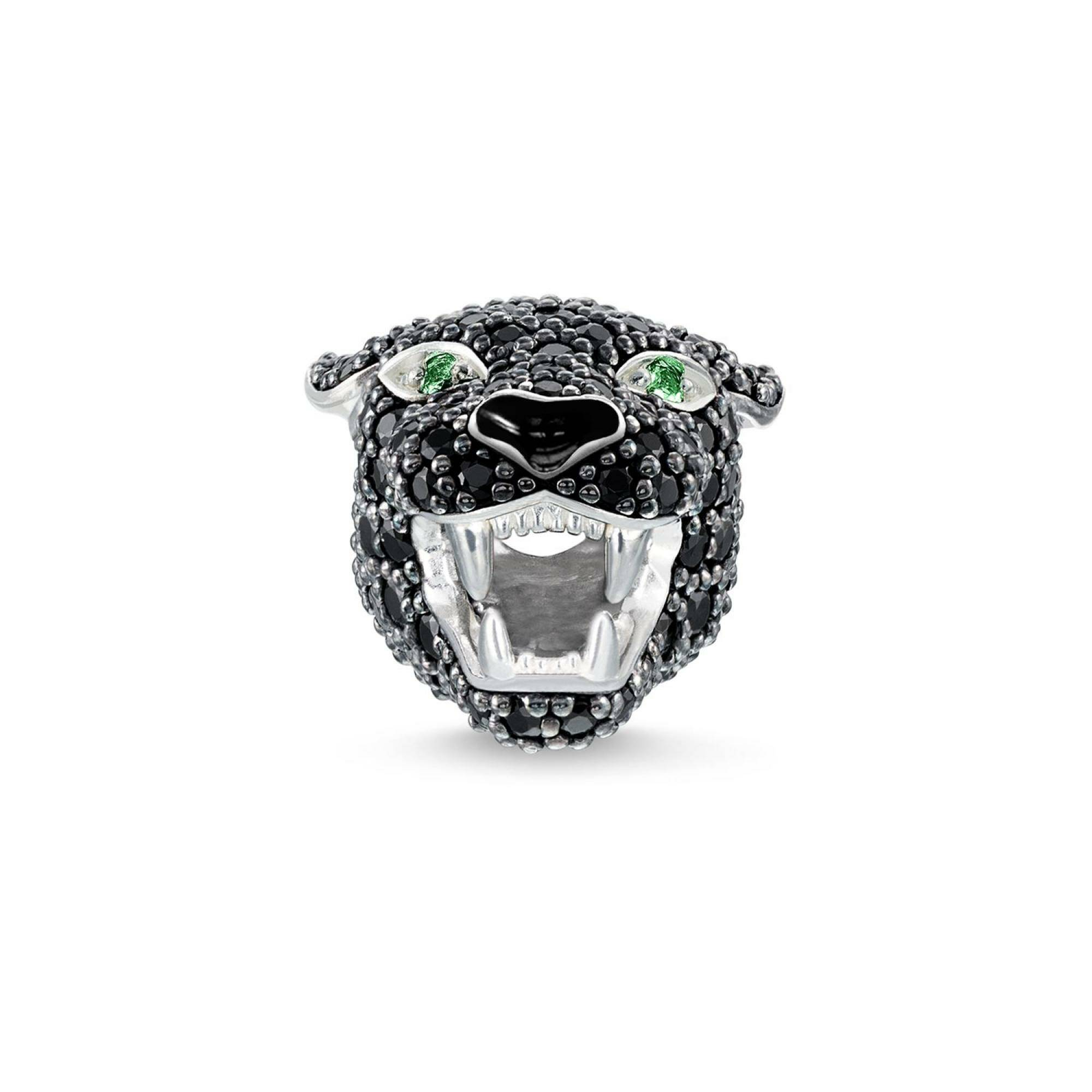 "[THOMAS SABO] BEAD ""BLACK PANTHER"""