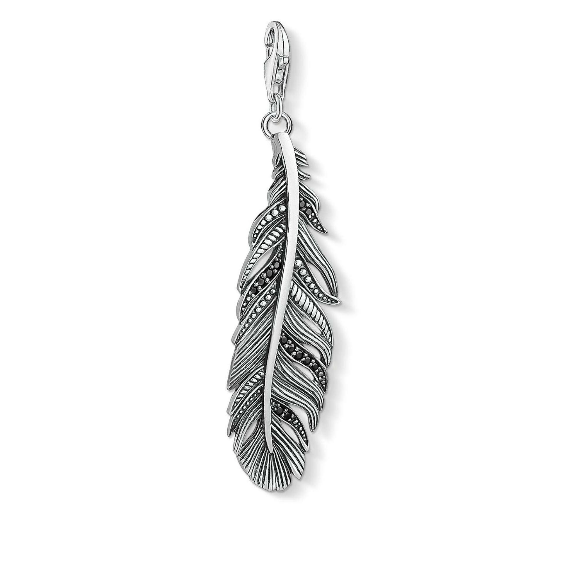 "[THOMAS SABO] CHARM PENDANT ""ETHNIC FEATHER"""