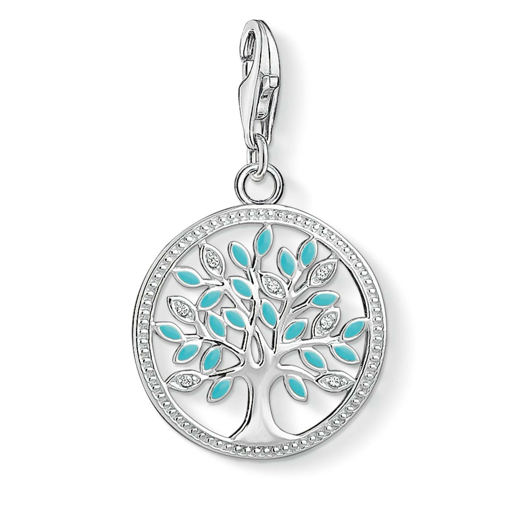 "[THOMAS SABO] CHARM PENDANT ""TREE"""