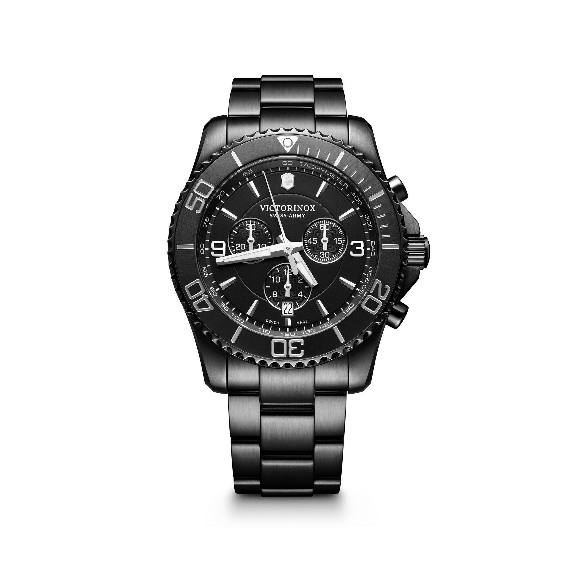 [VICTORINOX ] MAVERICK CHRONOGRAPH BLACK EDITION
