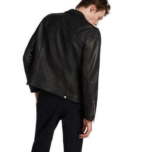 [ALL SAINTS]MILO BIKER / Black
