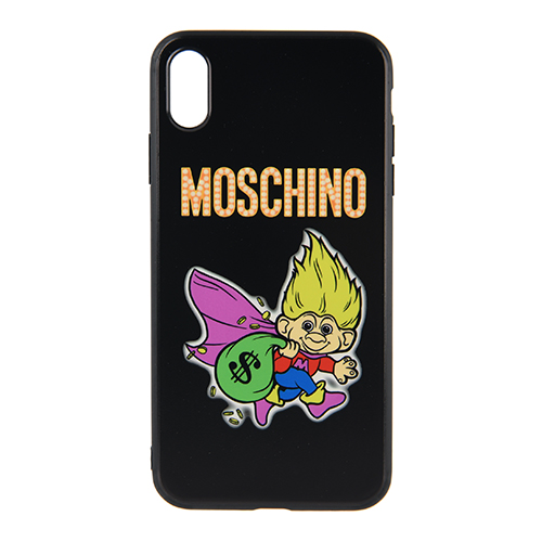 [MOSCHINO]TROLL PRINT IPHONE CASE XS MAX /7979-8350-1555