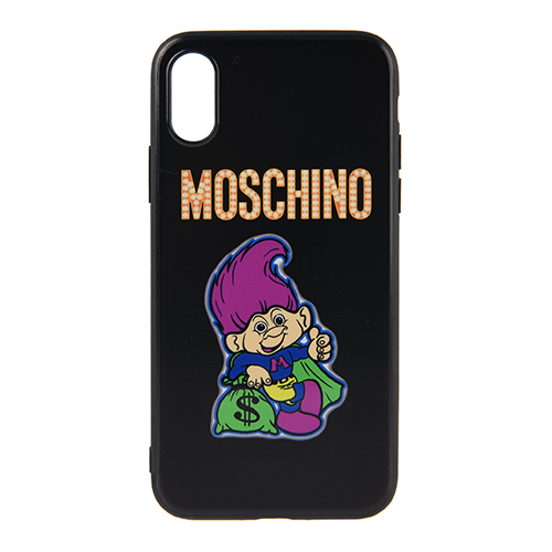 [MOSCHINO]TROLL PRINT IPHONE CASE X/XS /7977-8350-1555