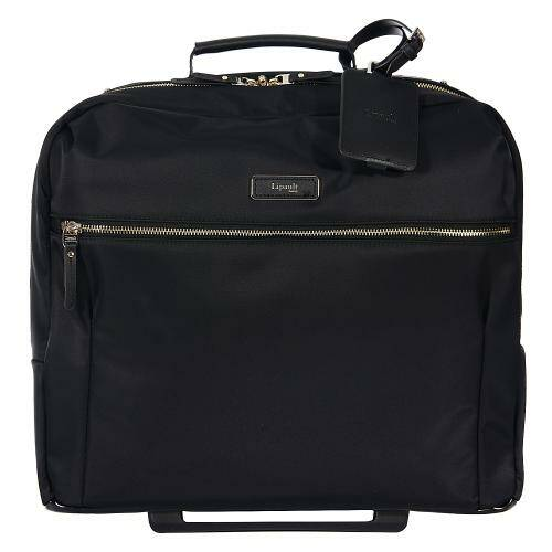 "[LIPAULT]BUSINESS AVENUE ROLLING TOTE 15"" JET BLACK/P7969003"