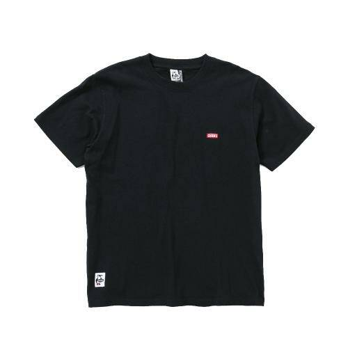 [CHUMS]Booby Logo T-Shirt / Black /CH01-1326-K001