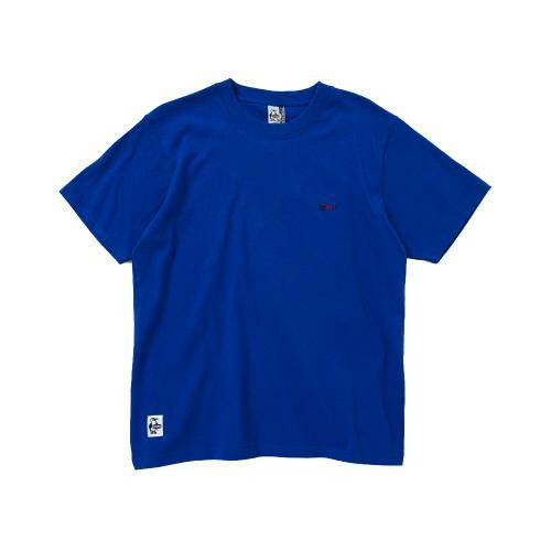 [CHUMS]Retainer Booby T-Shirt / Blue Hawaii /CH01-1480-A065