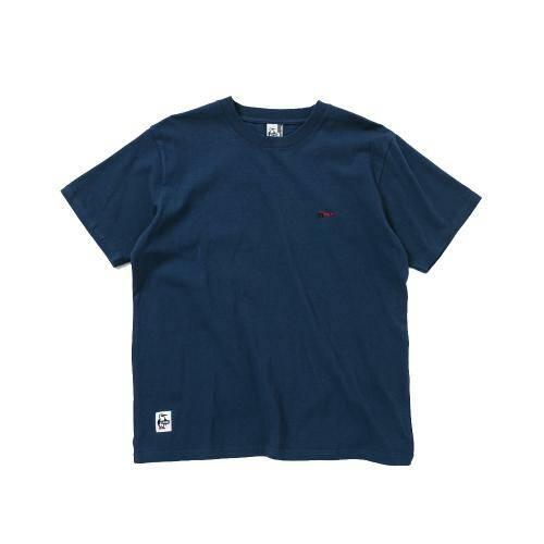 [CHUMS]Retainer Booby T-Shirt / Navy /CH01-1480-N001