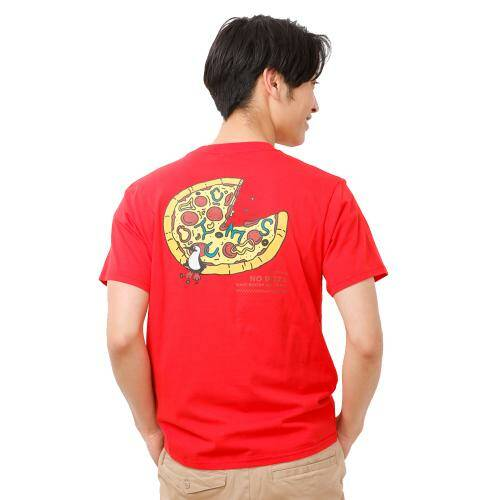 [CHUMS]Pizza T-Shirt / Red /CH01-1500-R001