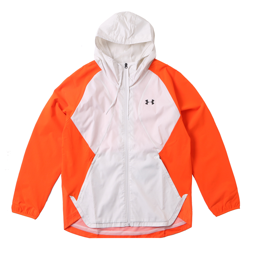 [UNDERARMOUR]STRETCH-WOVEN HOODED JACKET/ORG