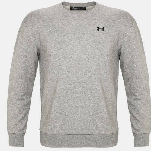 [UNDERARMOUR]L4L M 테리 small logo crew-GRY/GRY