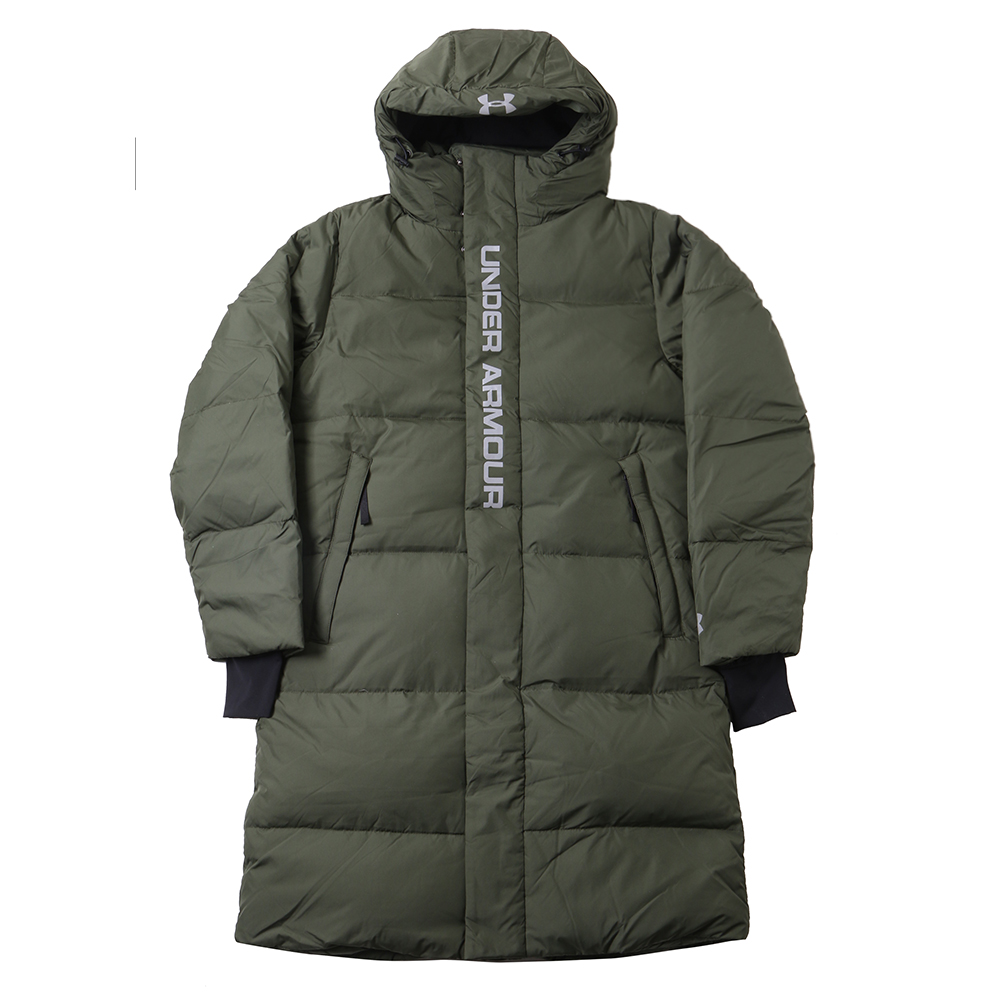 [UNDERARMOUR]Bench coat down/GRN