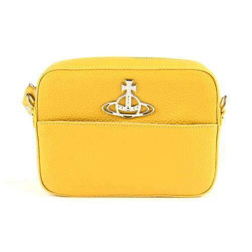 [VIVIENNE WESTWOOD] RACHEL CROSSBODY BAG YELLOW
