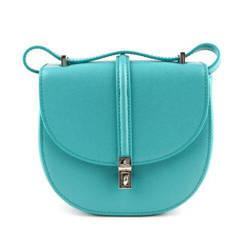 [VIVIENNE WESTWOOD] SOFIA MINI SADDLE BAG LIGHT BLUE