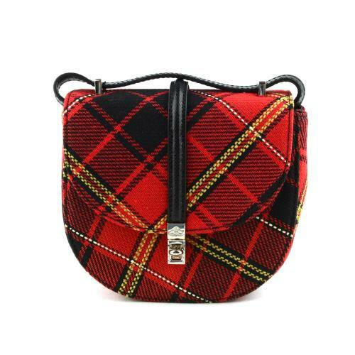 [VIVIENNE WESTWOOD] SPECIAL SOFIA MINI SADDLE BAG RED/BLACK