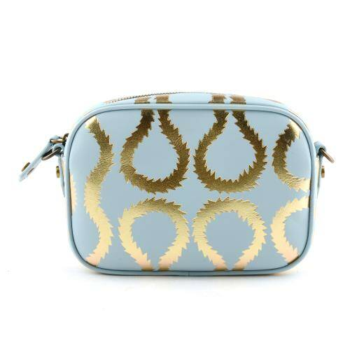 [VIVIENNE WESTWOOD] SQUIGGLE WORLDS END CAMERA BAG LIGHT BLUE
