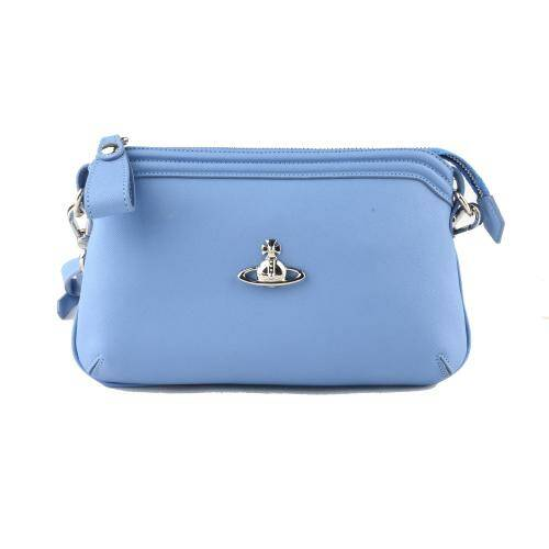 [VIVIENNE WESTWOOD] VICTORIA SMALL CROSSBODYLIGHT BLUE