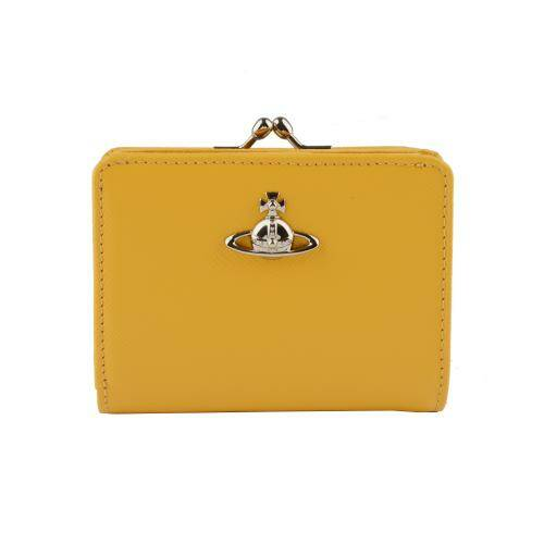 [VIVIENNE WESTWOOD] PIMLICO WALLET WITH FRAME POCKET