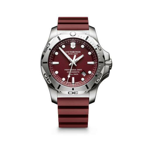 [VICTORINOX]I.N.O.X. Professional Diver, red dial, red rubber strap/241736