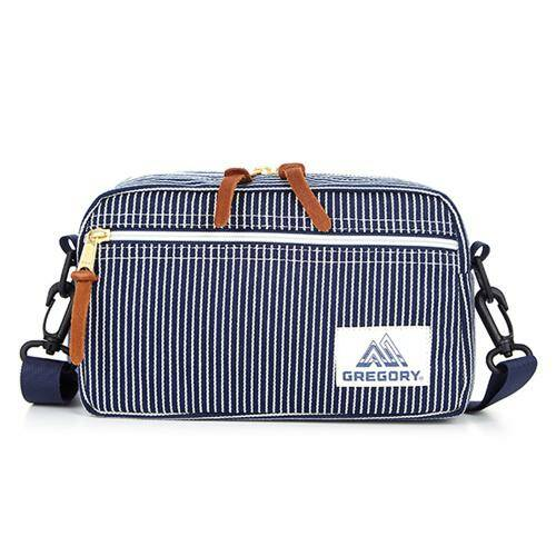 [GREGORY]CLASSIC BAGS PAD SHOULDER POUCH M HICK.STRIP_08JC3112